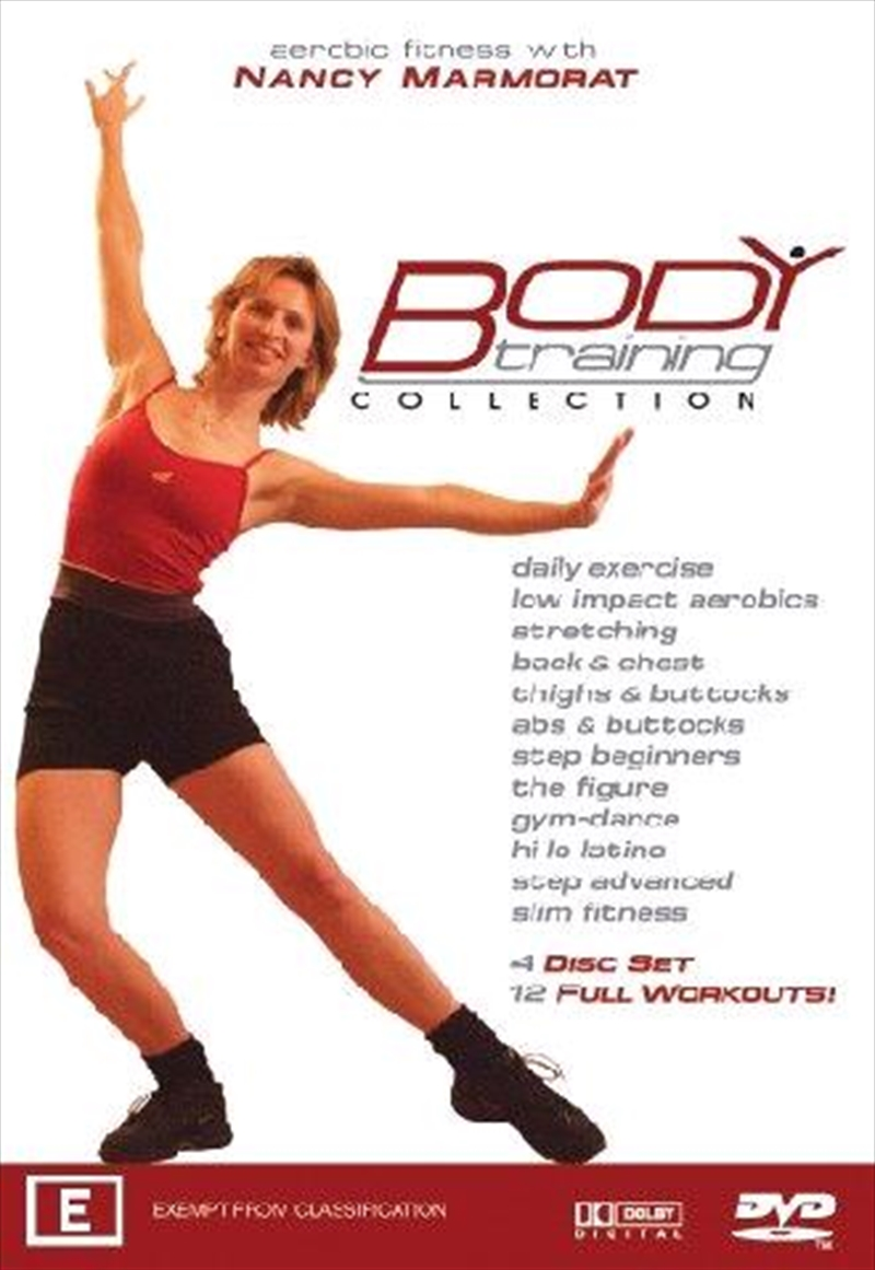 Nancy Marmorat Fitness Collection | DVD