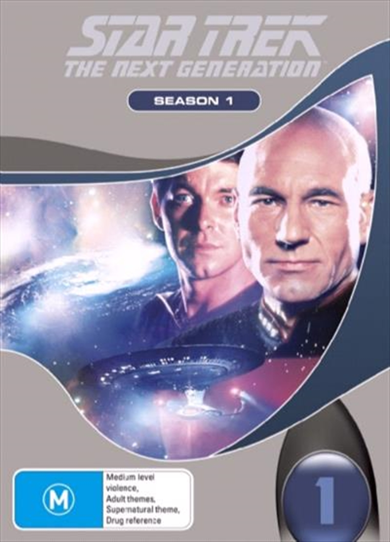 Star Trek Next Generation DVD Box Set Season 01 (New Packaging) | DVD