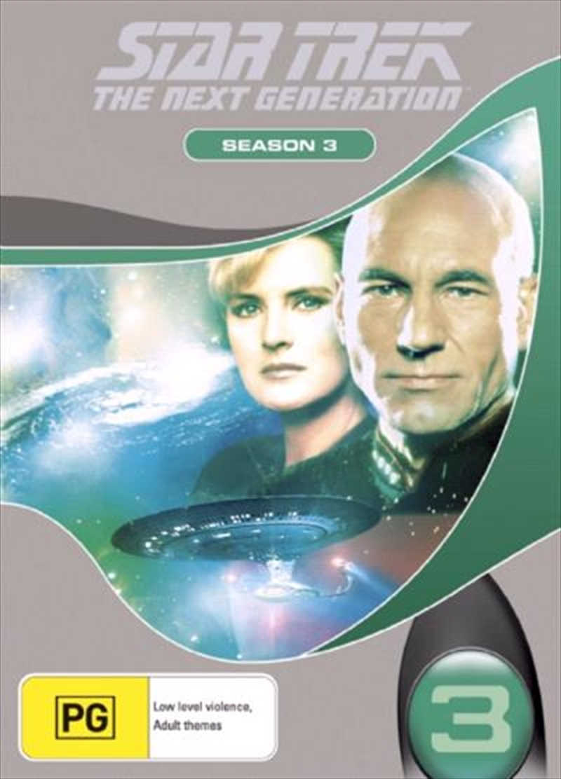 Star Trek Next Generation DVD Box Set Season 03 (New Packaging) | DVD