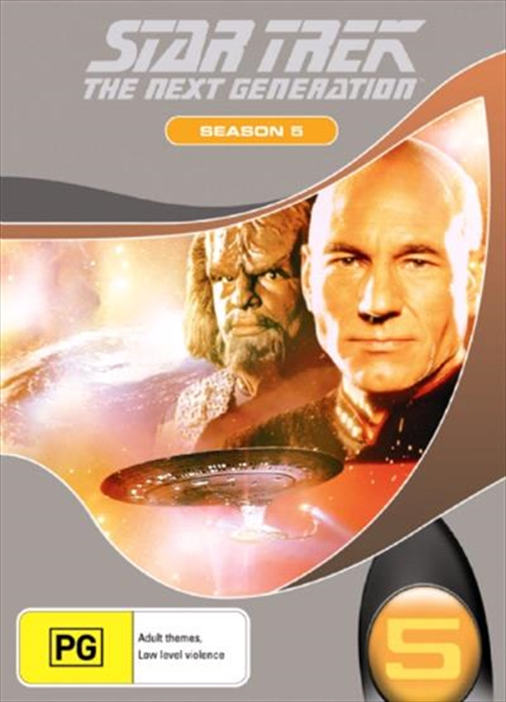 Star Trek Next Generation DVD Box Set Season 05 (New Packaging) | DVD