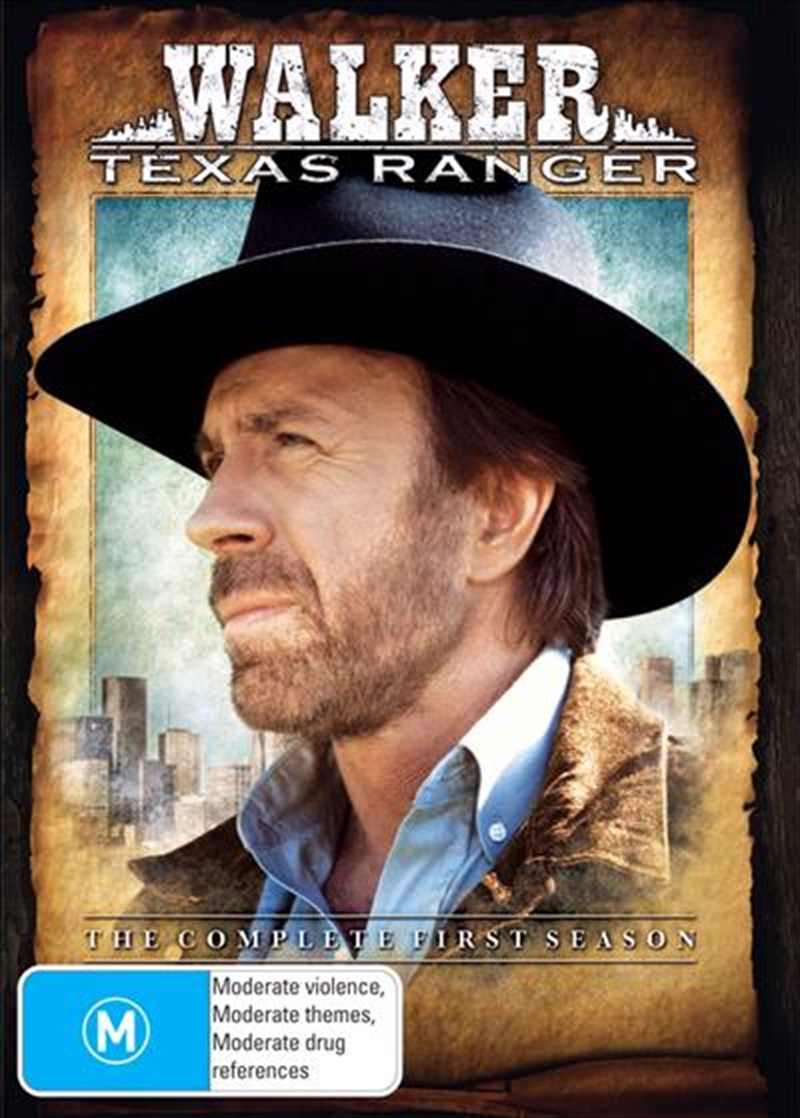 Walker Texas Ranger; S1 | DVD