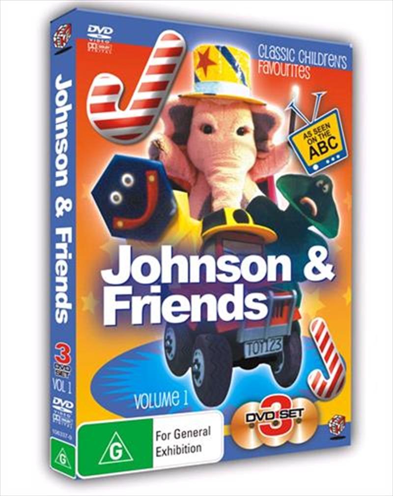 johnson and friends box set abc  dvd