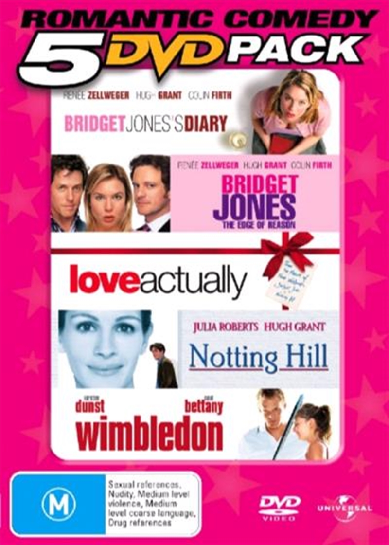 Romantic Comedy 5 DVD Pack | DVD