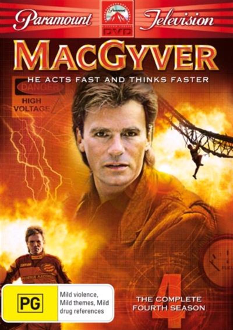 MacGyver - Season 04   DVD