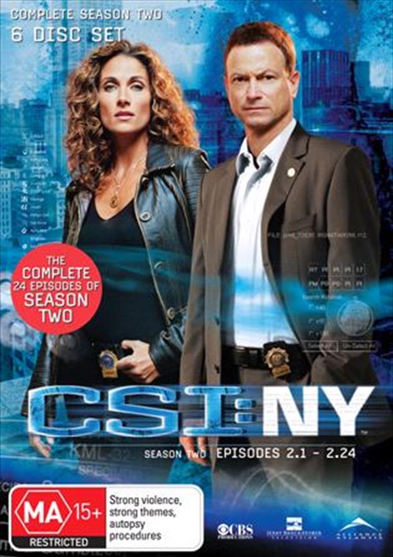 CSI: NY - Season 02 | DVD
