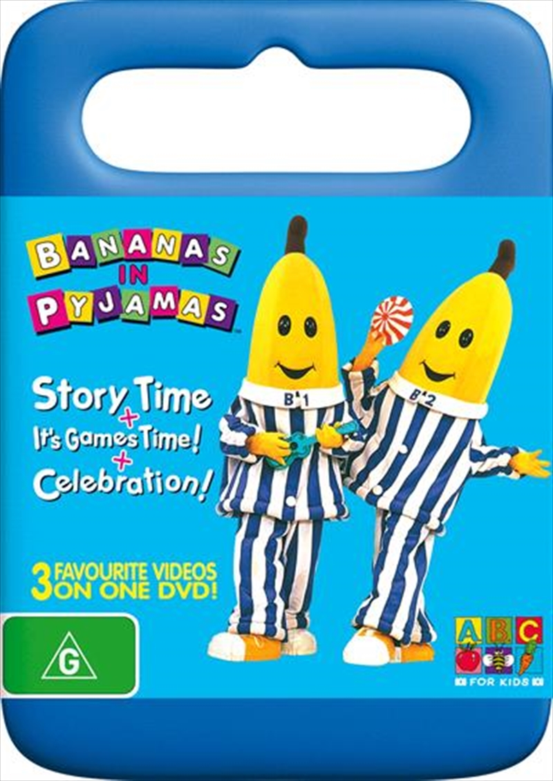 Bananas In Pyjamas Story Time It S Games Time