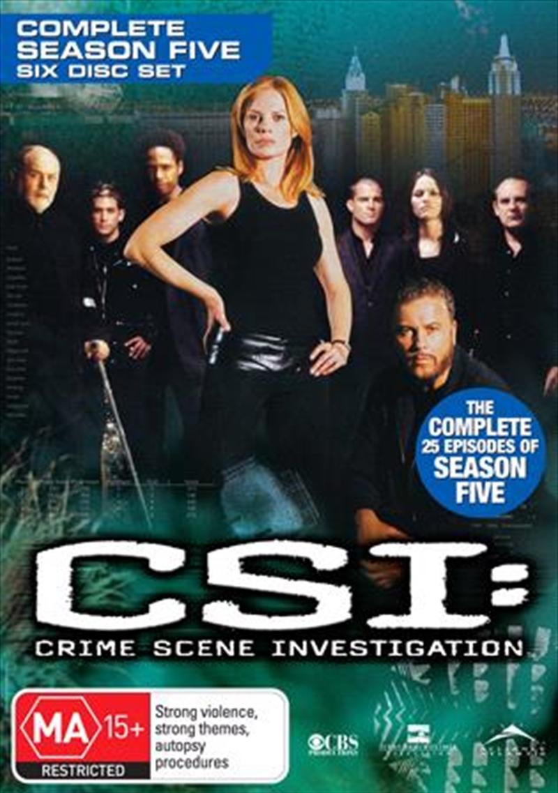 CSI: Crime Scene Investigation - Season 05 | DVD