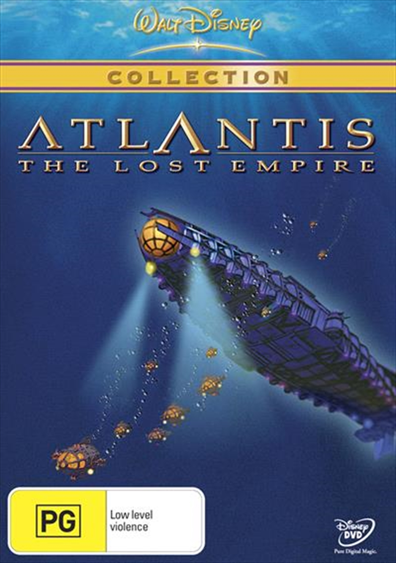 Atlantis - The Lost Empire  (Single Disc Version) | DVD