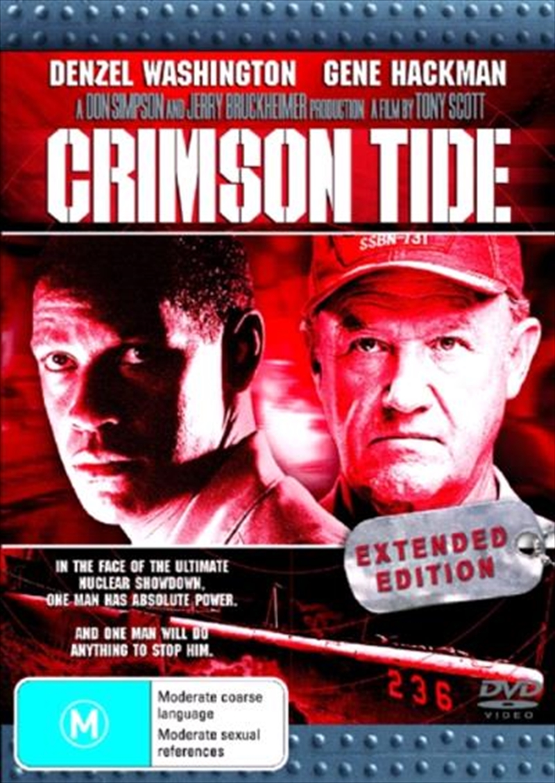 Crimson Tide  - Extended Edition | DVD