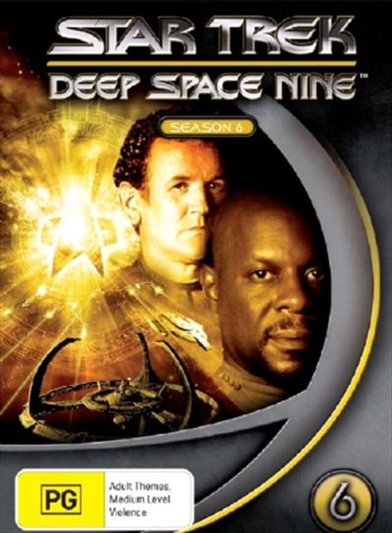 Star Trek Deep Space Nine Season 06 DVD Box Set | DVD