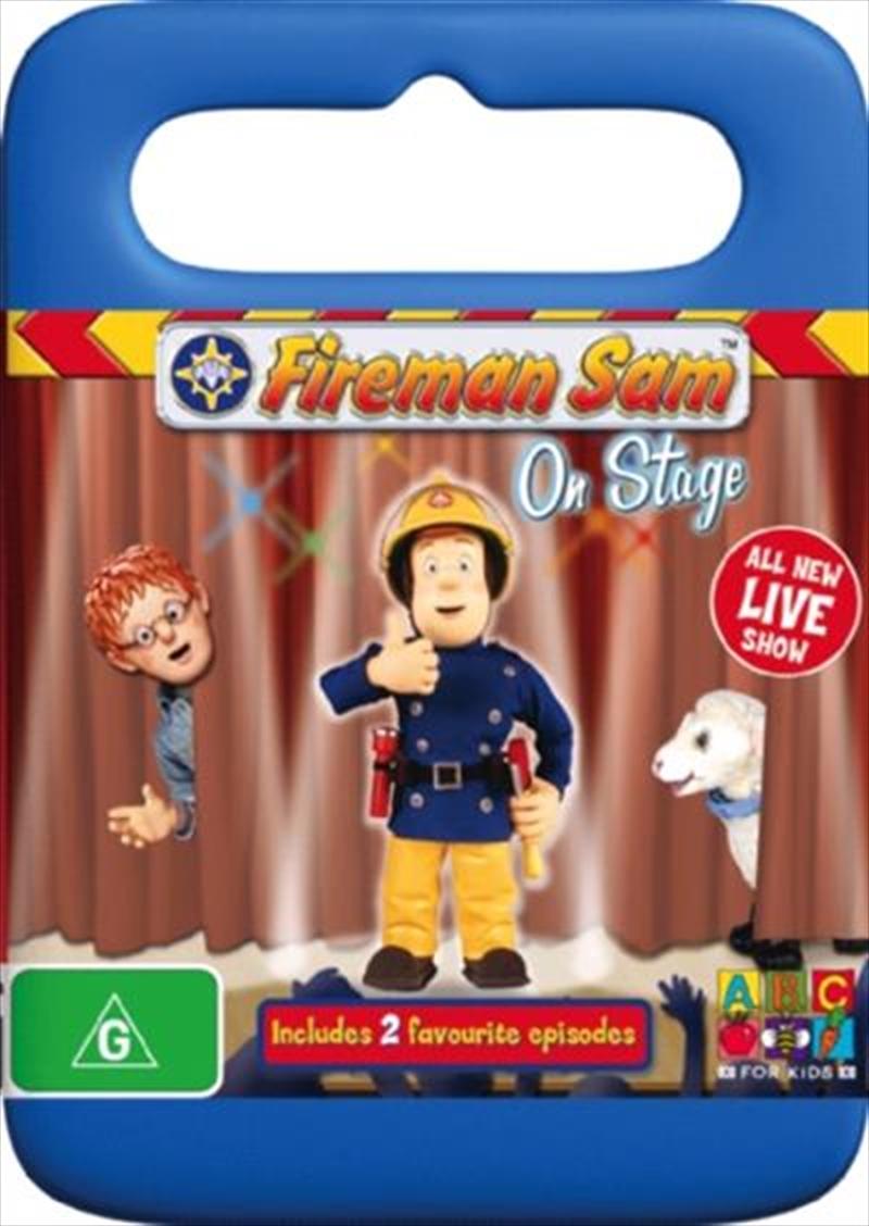 Fireman Sam - On Stage | DVD