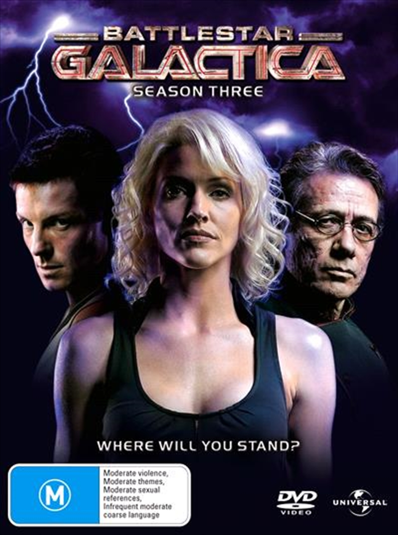 Battlestar Galactica - Season 03 - Slimline Packaging | DVD