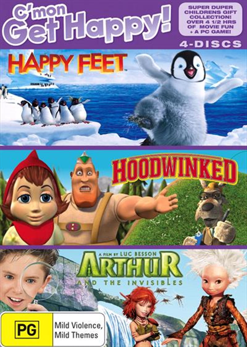 Happy Kids Collection Happy Feet Arthur And The