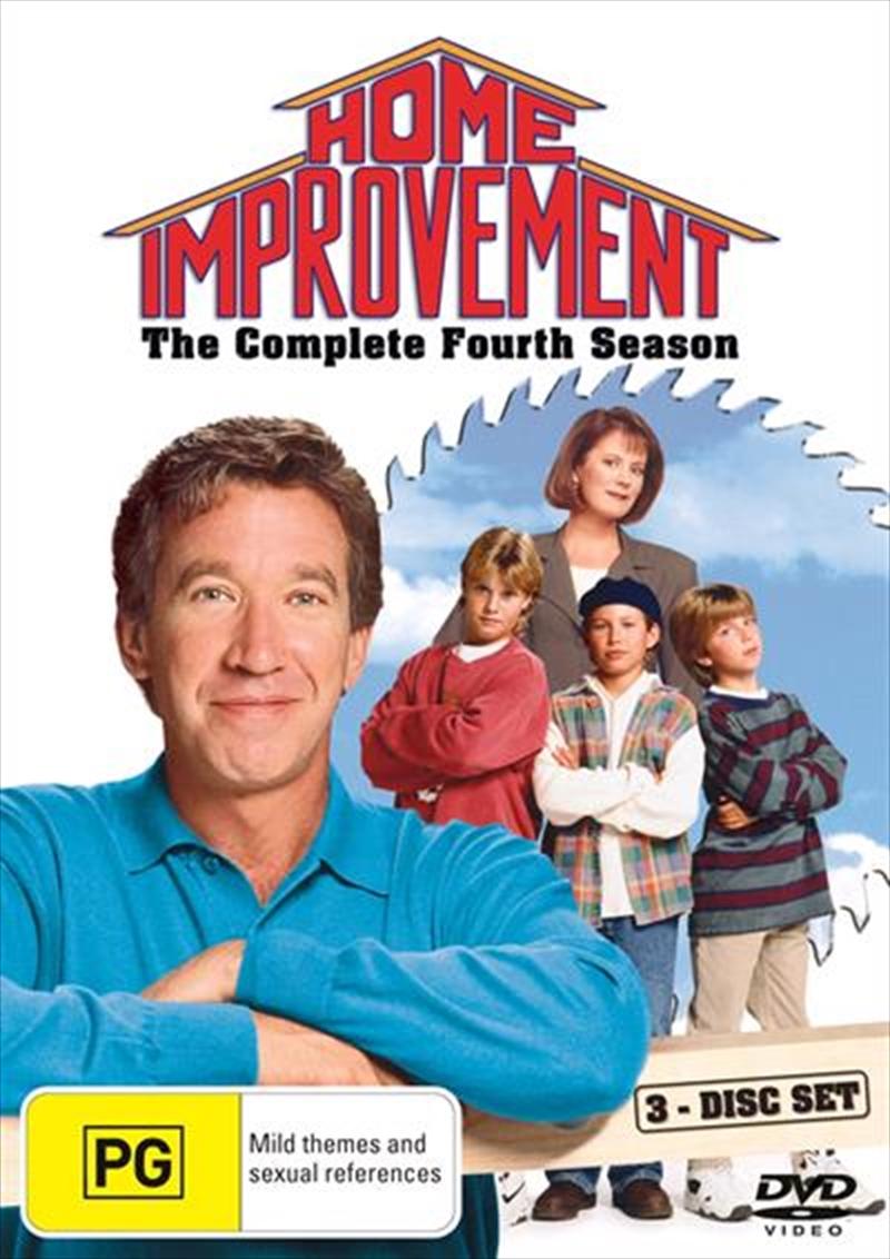 Home Improvement - Season 04 | DVD