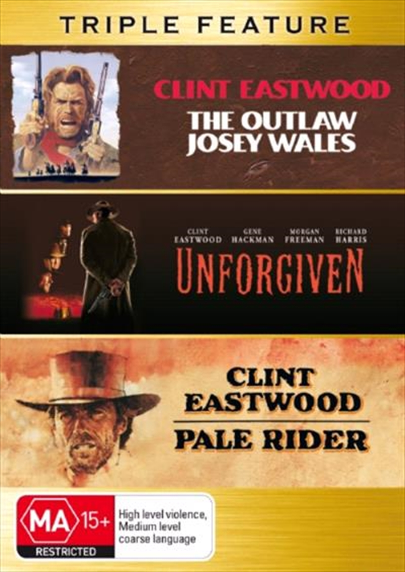 Outlaw Josey Wales, The / Unforgiven / Pale Rider Western
