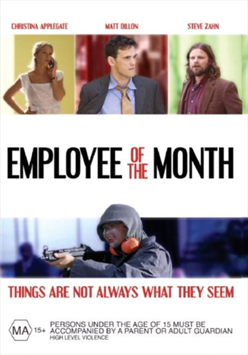 employee of the month comedy dvd sanity