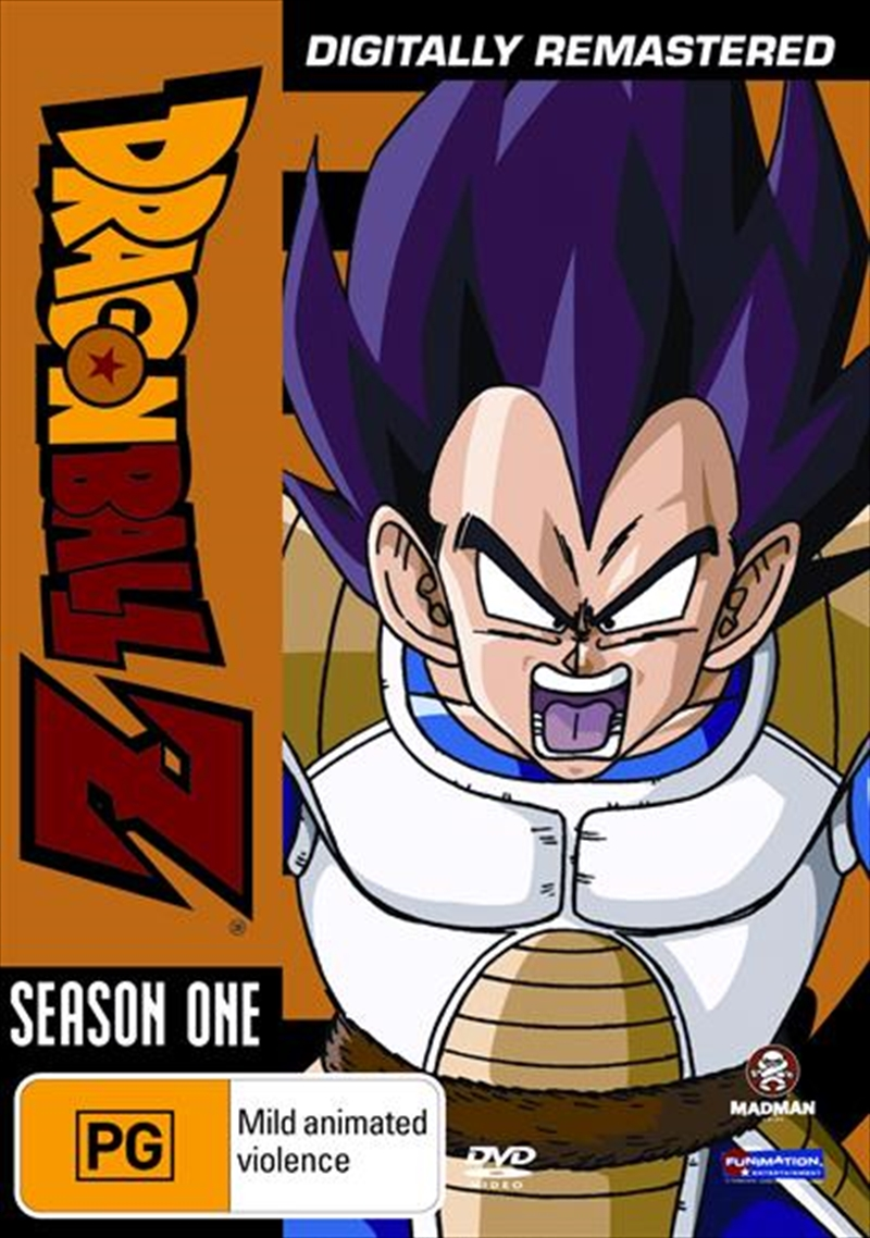 Dragon Ball Z - Remastered - Uncut Season 1 | DVD