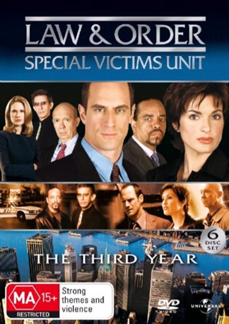 Law And Order: Special Victims Unit - Season 03 | DVD