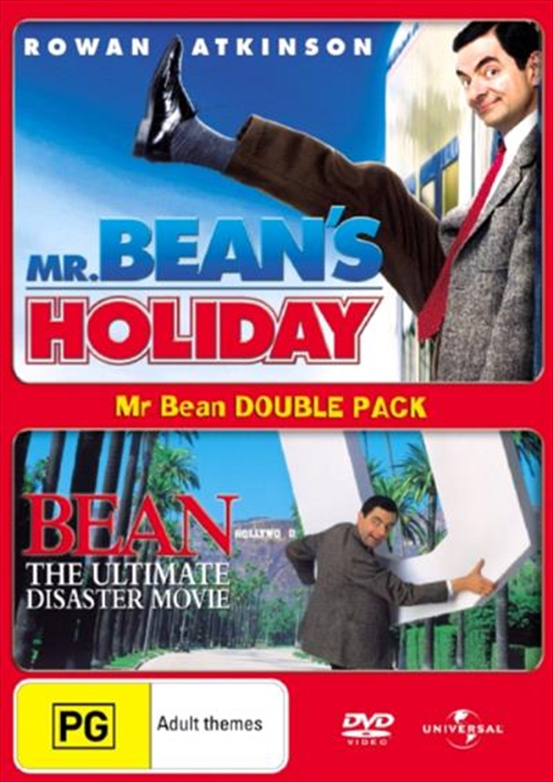 Mr Bean's Holiday / Bean - The Ultimate Disaster Movie   DVD