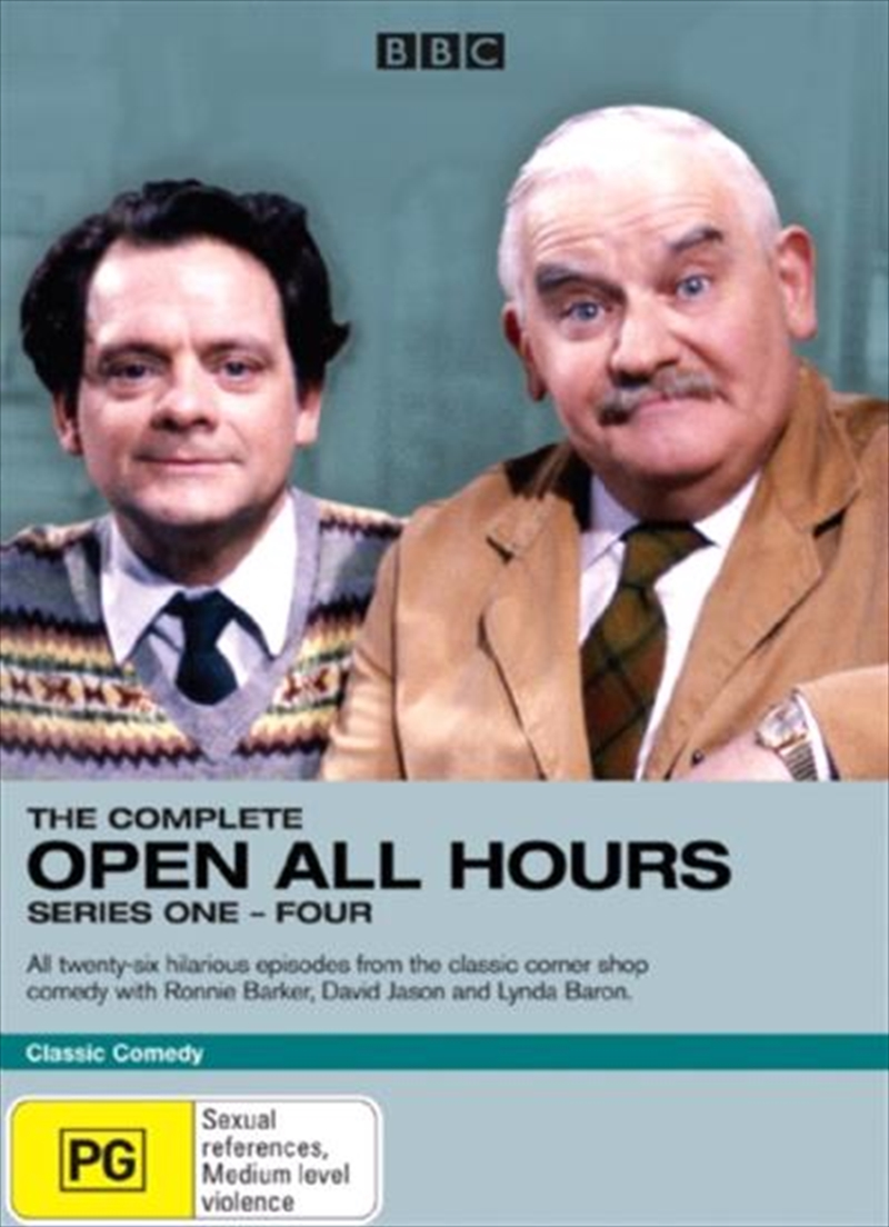 Open All Hours - Complete Series 01 - 04 Box Set | DVD