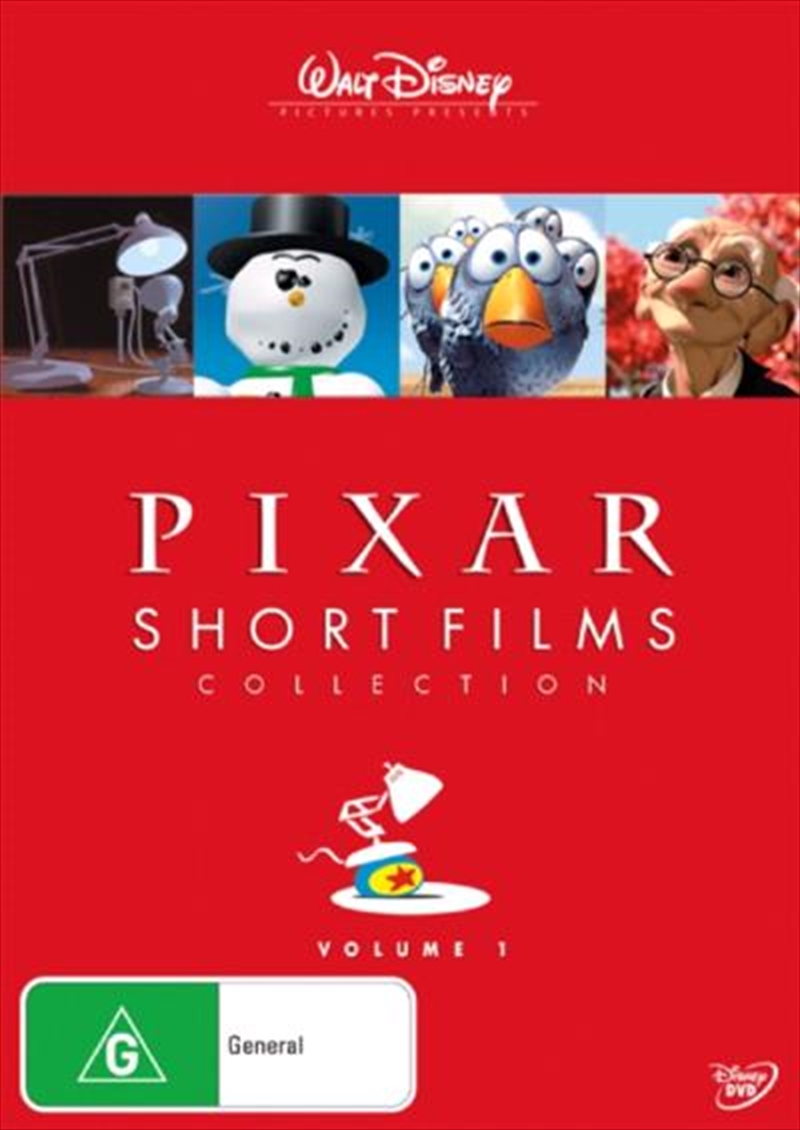 Pixar Short Films Collection - Vol 01 | DVD