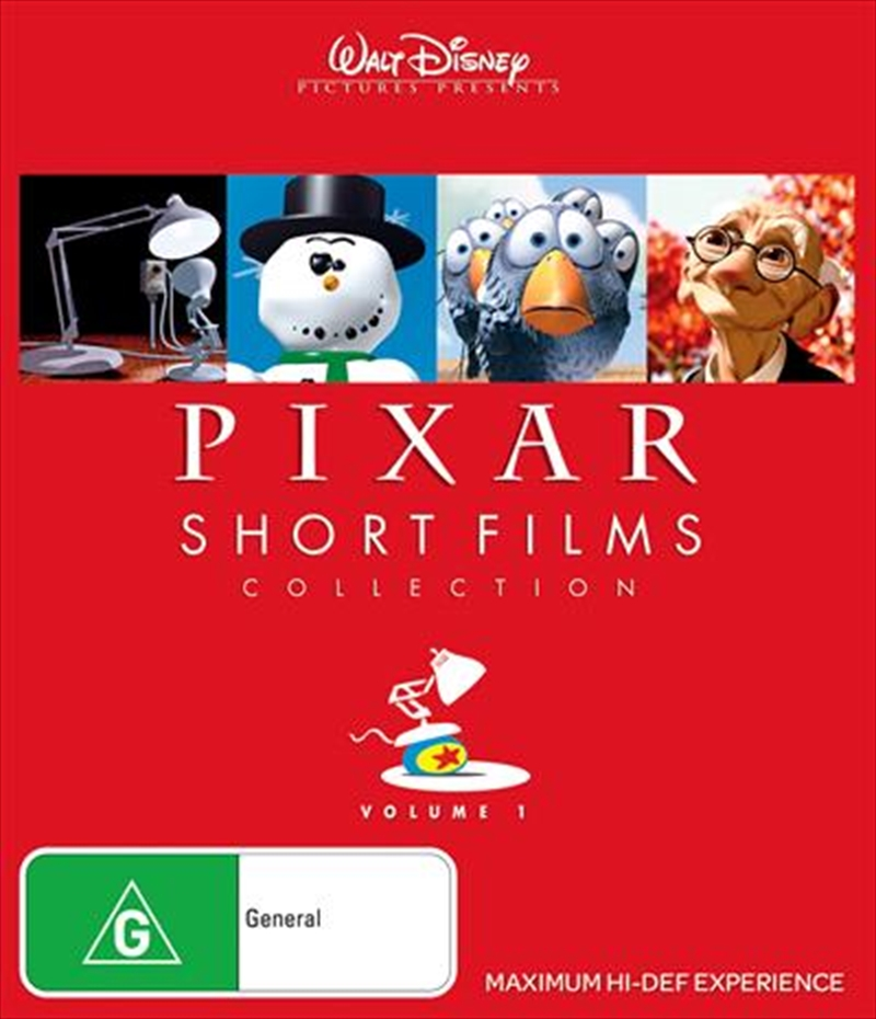Pixar Short Films Collection - Vol 1 | Blu-ray