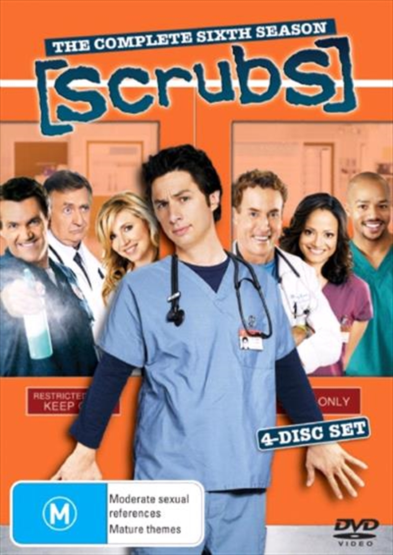 Scrubs - Season 06 | DVD