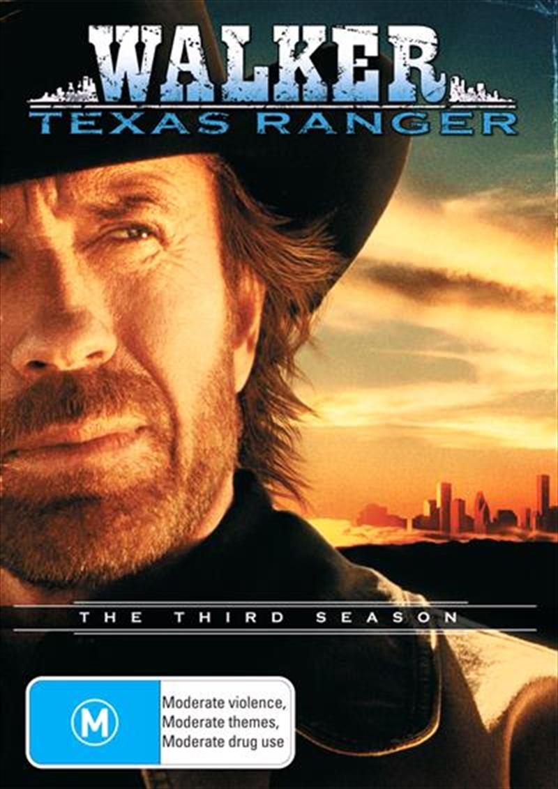 Walker, Texas Ranger - Season 03 | DVD