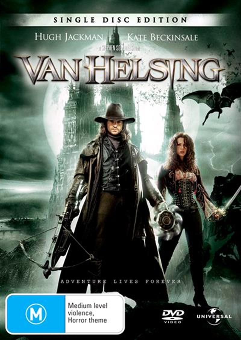 Buy Van Helsing On Dvd Sanity