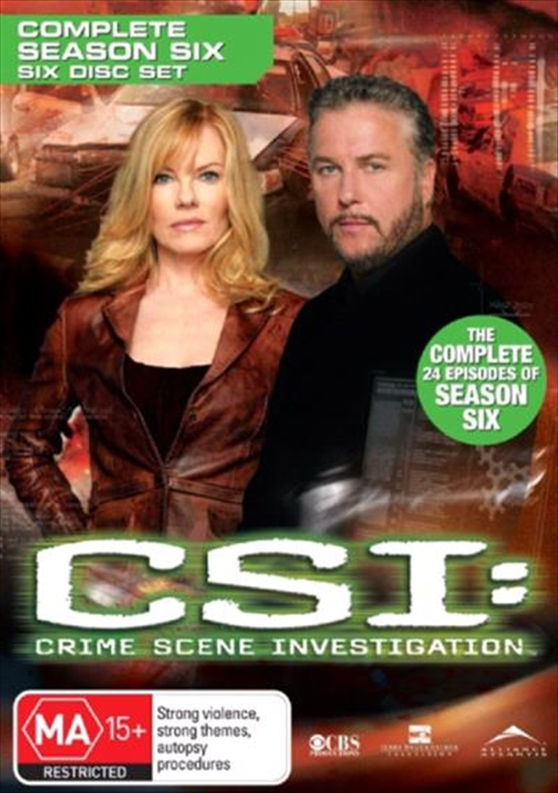 CSI: Crime Scene Investigation - Season 06 | DVD