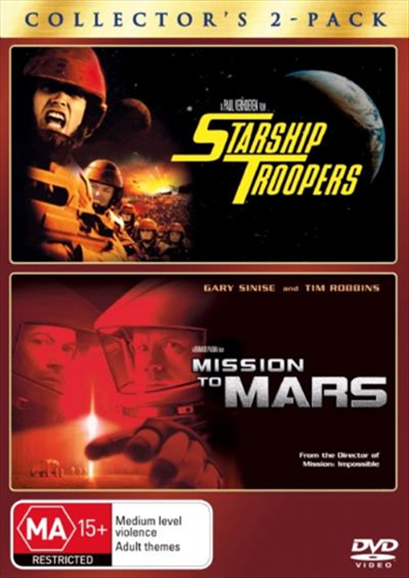 Starship Troopers  / Mission To Mars | DVD