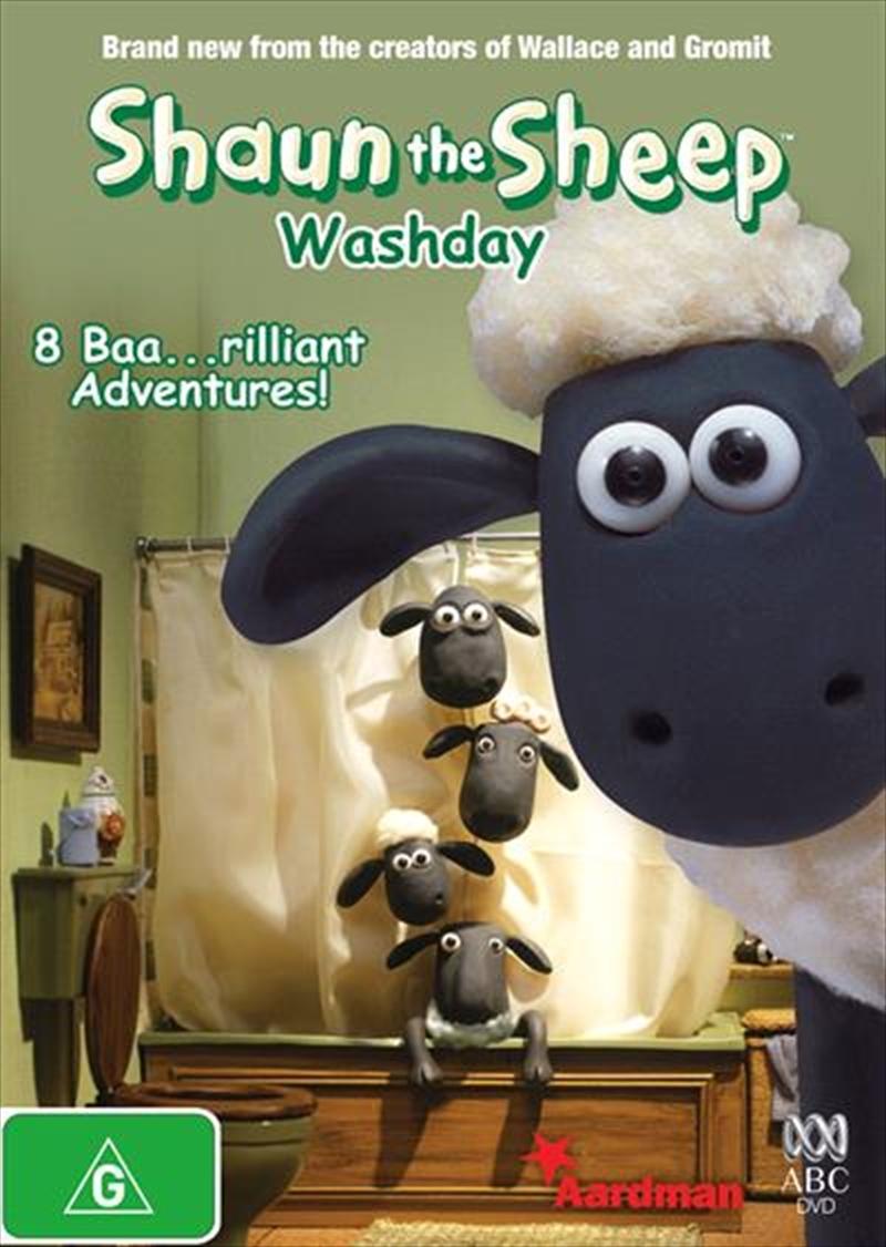 Shaun The Sheep - Washday | DVD