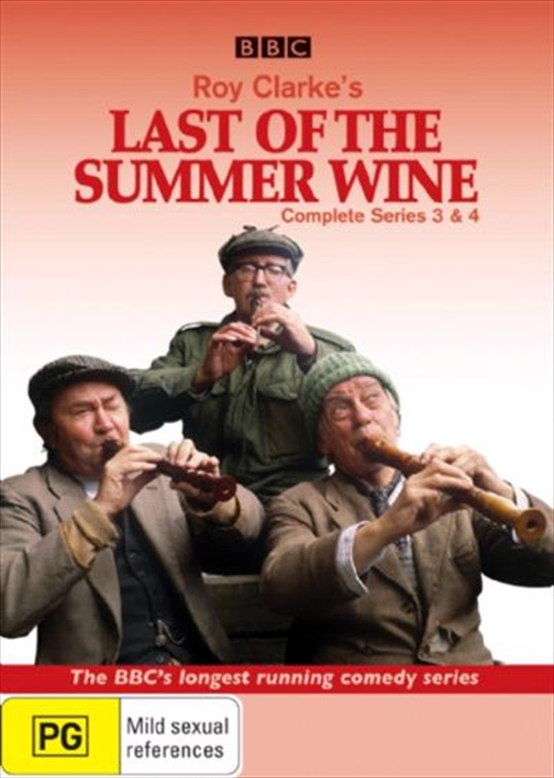 Last Of The Summer Wine - Series 03 and 04 | DVD