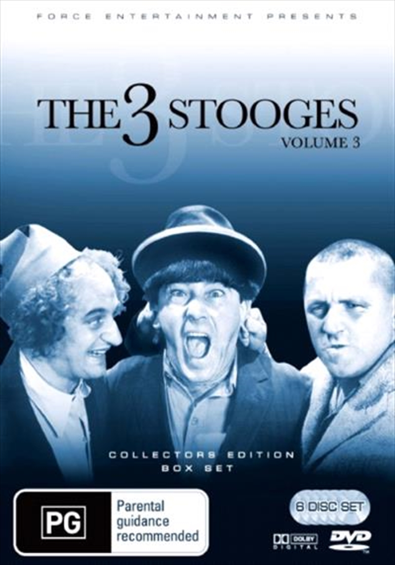Three Stooges Vol 3 - Collector's Edition | DVD