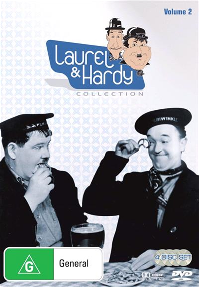 Laurel And Hardy - Collection 02 | DVD