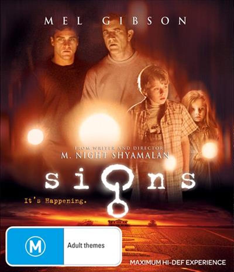 Signs   Blu-ray