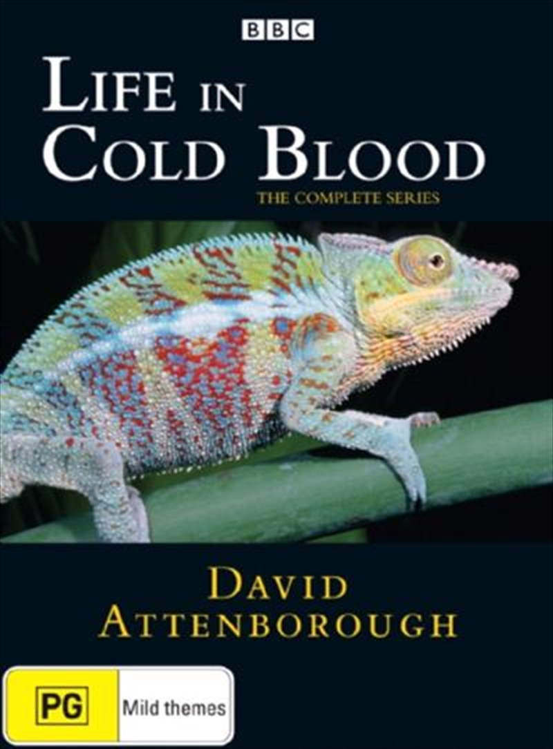 David Attenborough: Life In Cold Blood: The Complete Series | DVD