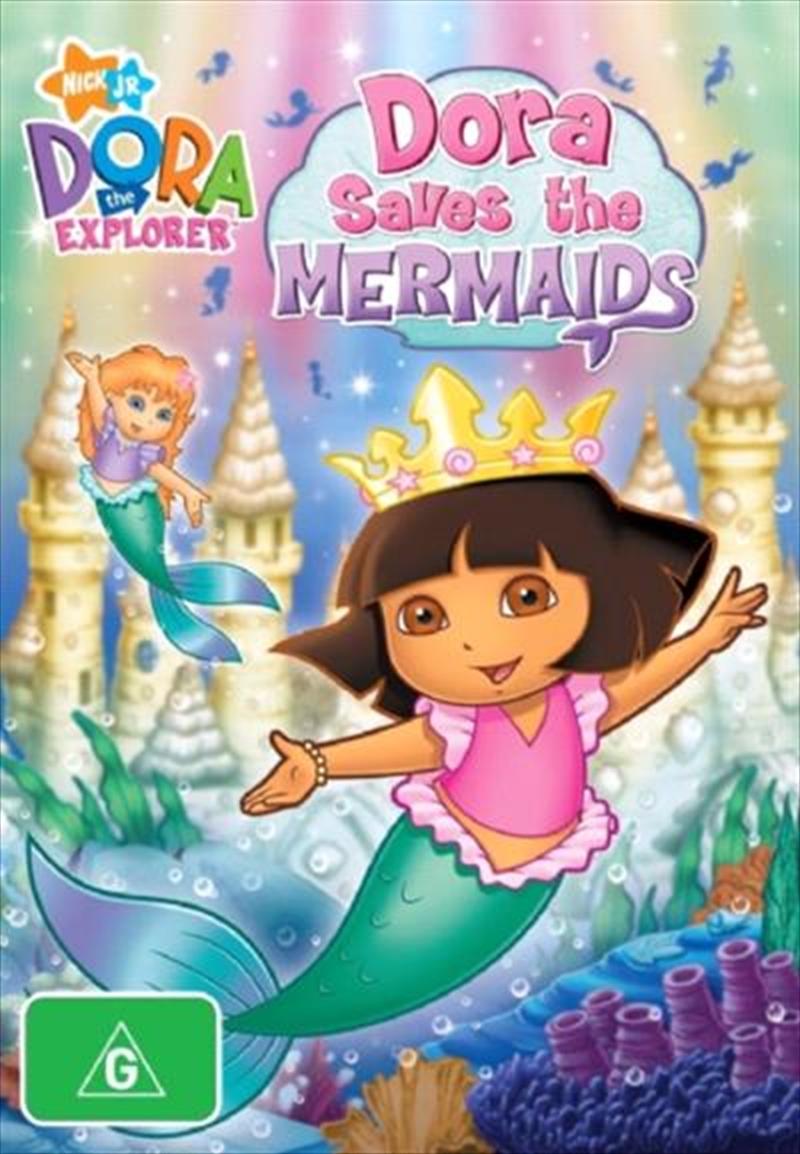 Dora The Explorer - Dora Saves The Mermaid | DVD