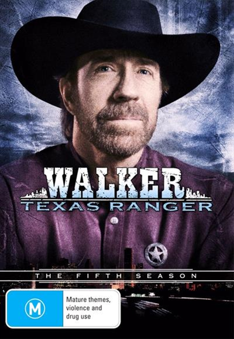 Walker, Texas Ranger - The Complete Fifth Season | DVD