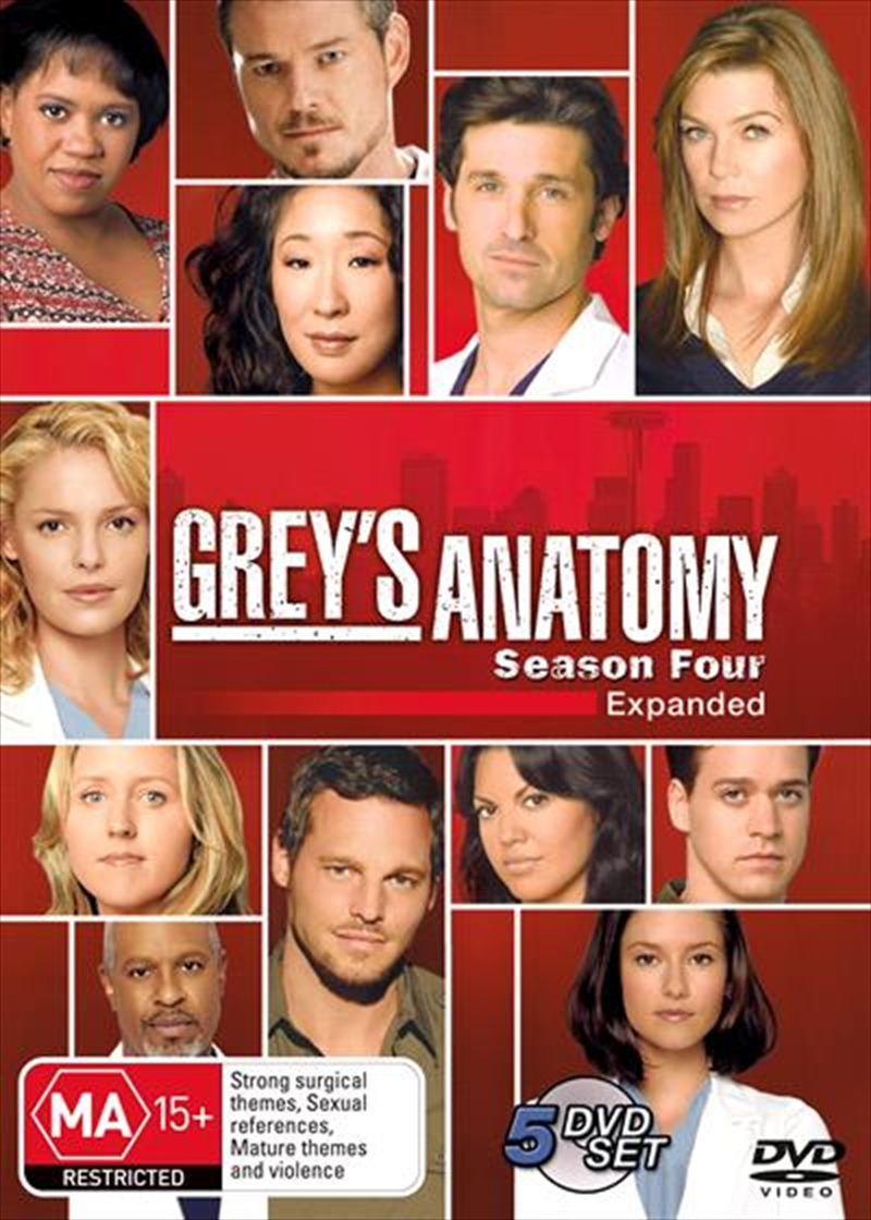 Grey's Anatomy - Season 04 | DVD