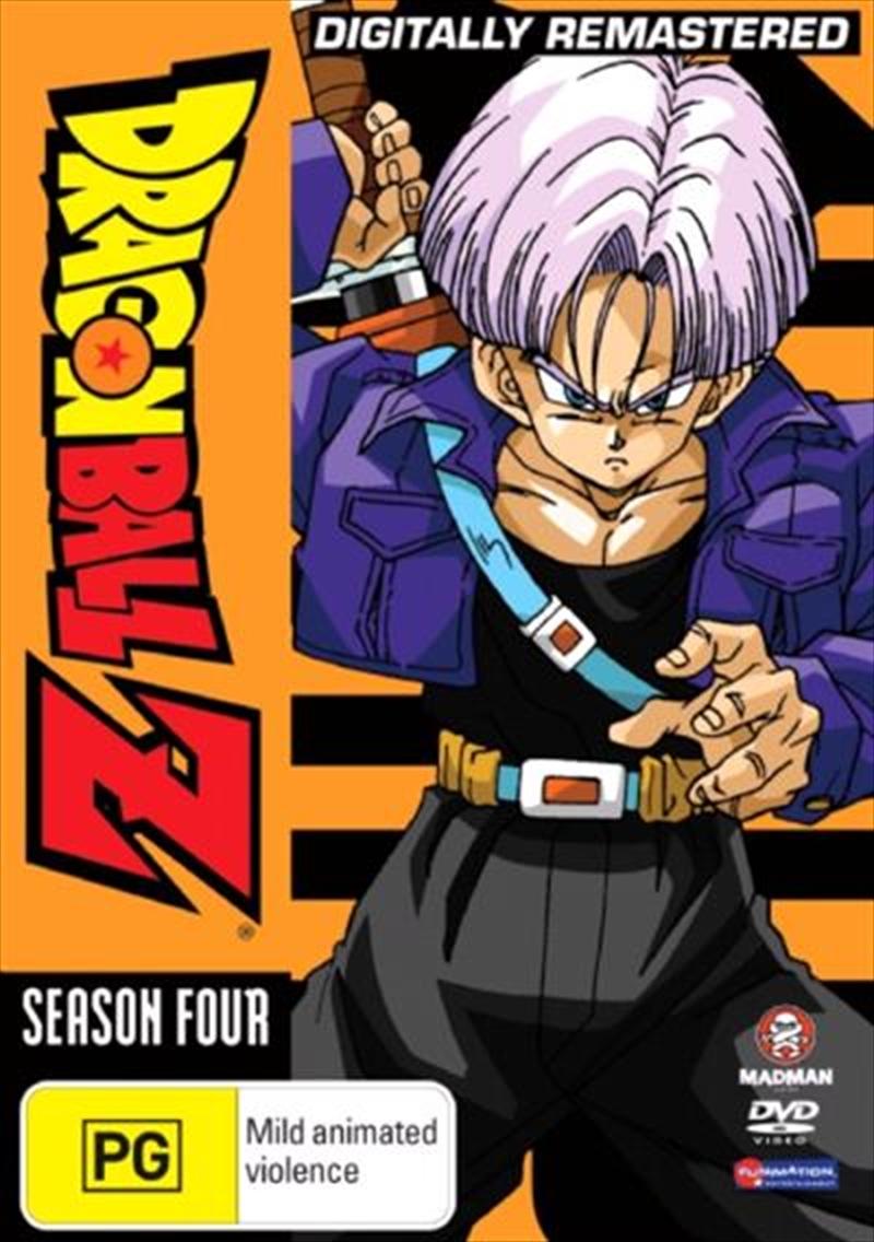 Dragon Ball Z - Season 4 - Remastered - Uncut   DVD