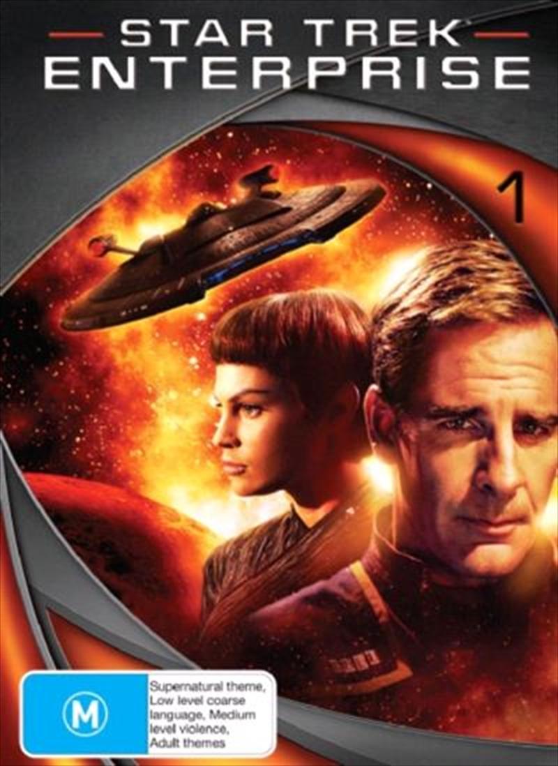 Star Trek Enterprise - Season 01 (New Packaging) | DVD