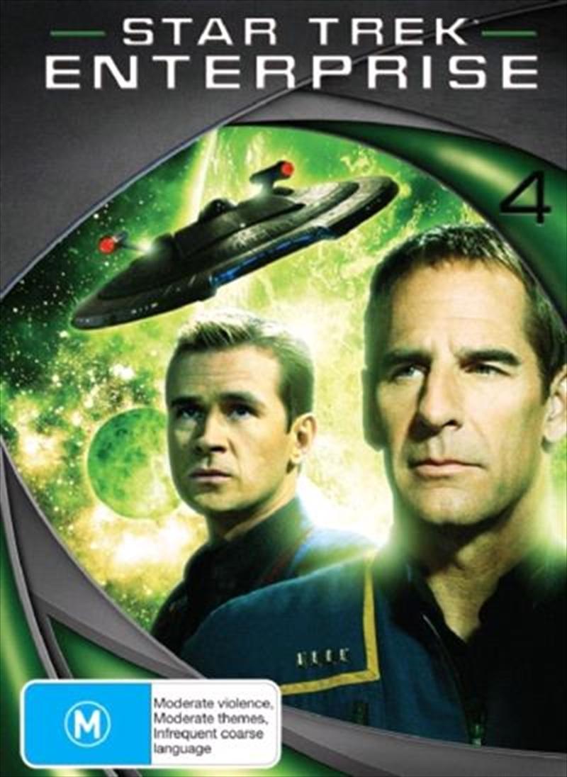 Star Trek Enterprise - Season 04  (New Packaging) | DVD