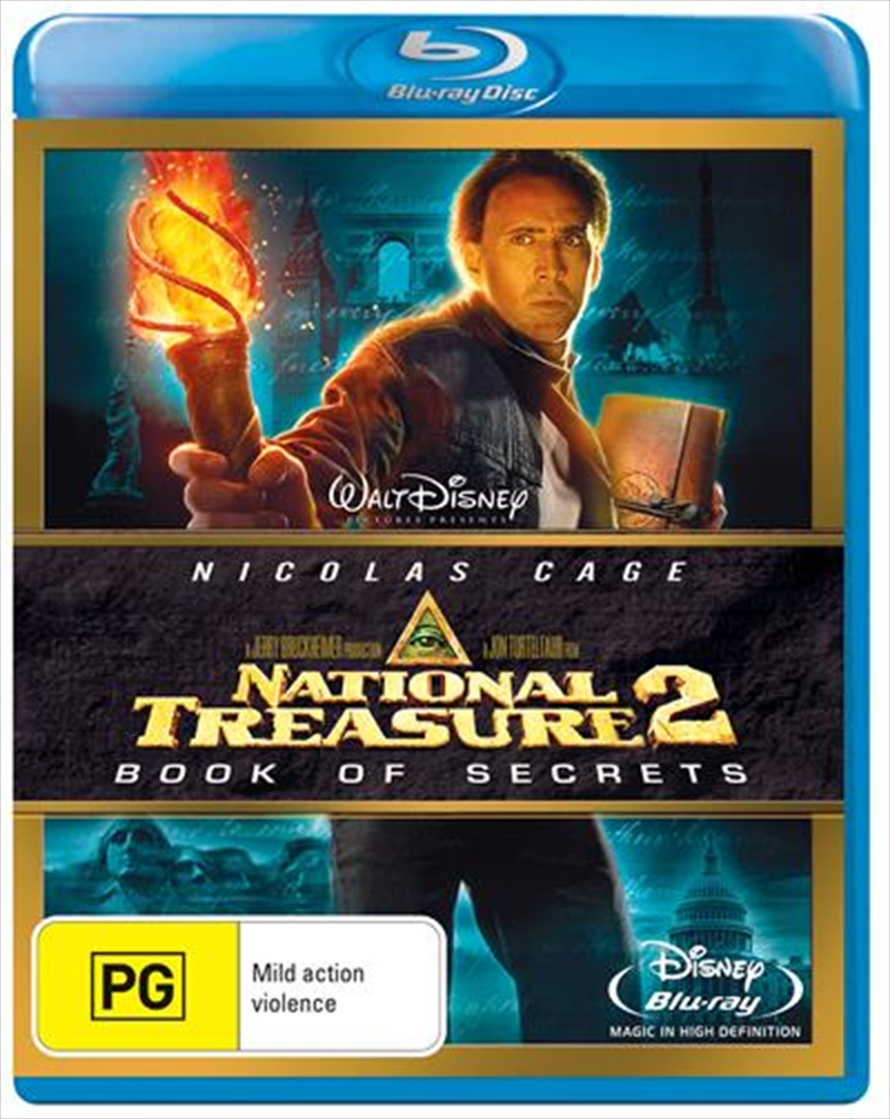National Treasure 02 - Book Of Secrets | Blu-ray