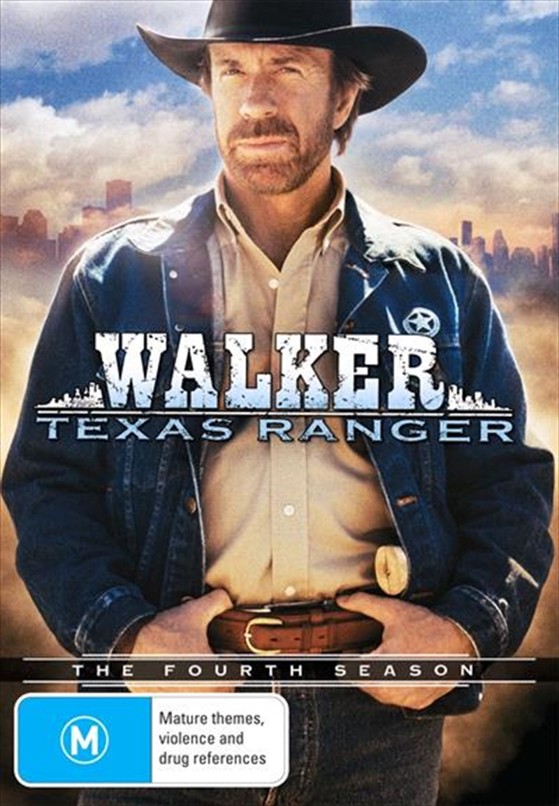 Walker, Texas Ranger - The Complete Fourth Season | DVD