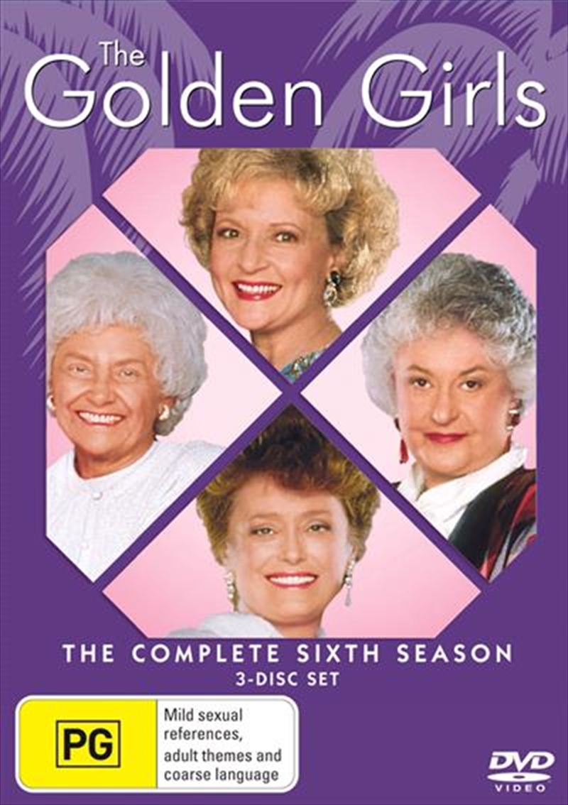 Golden Girls- The Complete Sixth Season, The | DVD