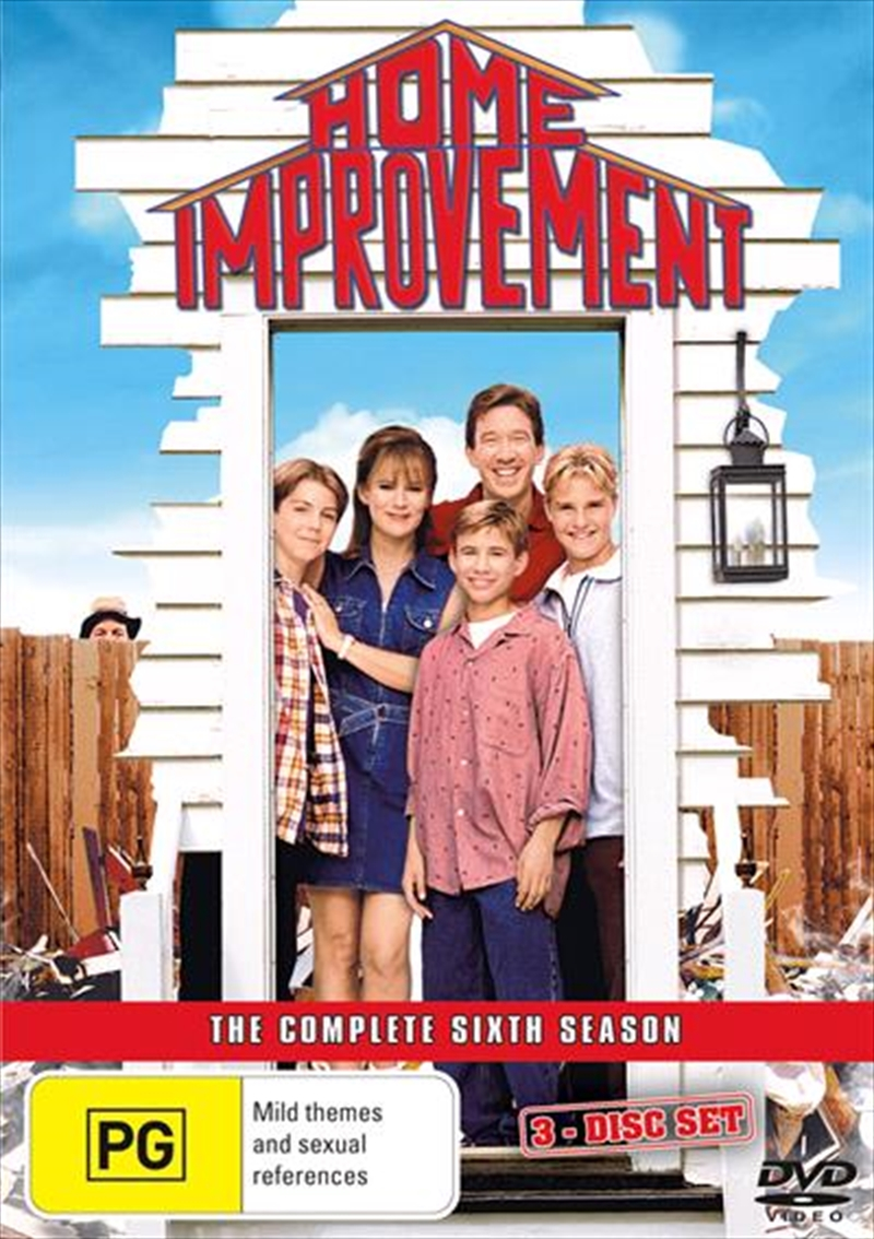 Home Improvement - The Complete Sixth Season | DVD