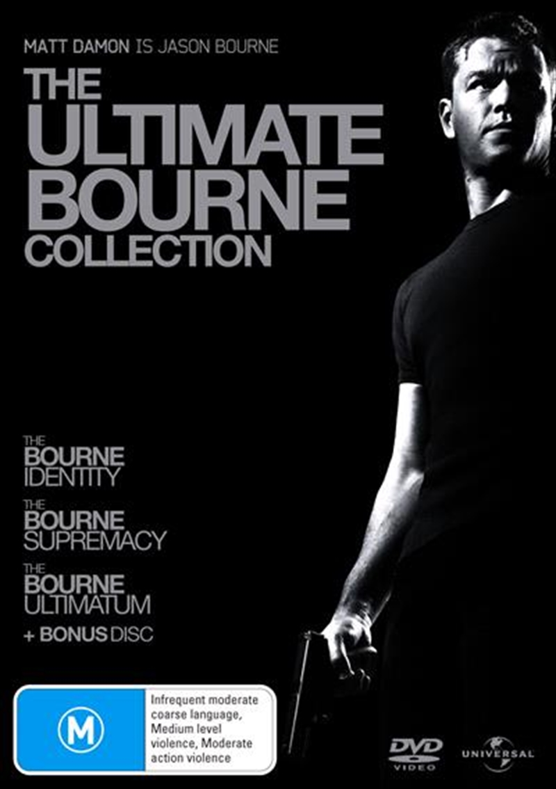 Bourne Identity / The Bourne Supremacy / The Bourne Ultimatum, The | DVD