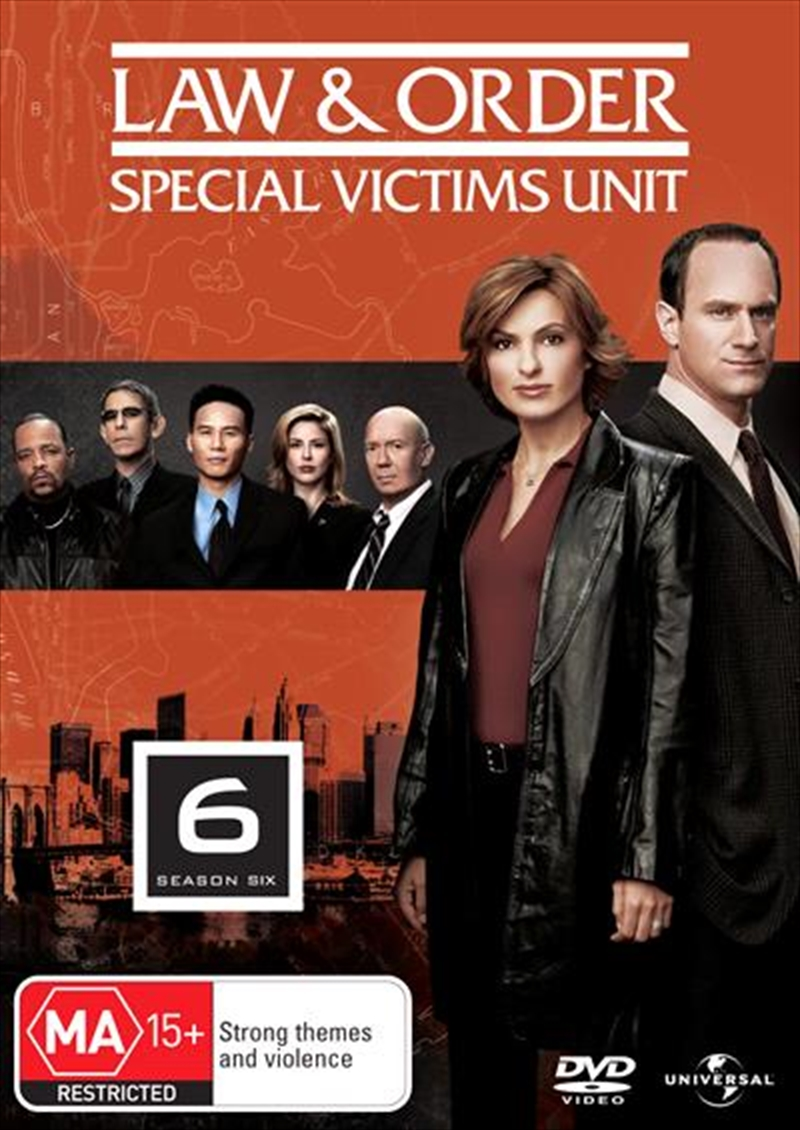 Law And Order: Special Victims Unit - Season 06 | DVD