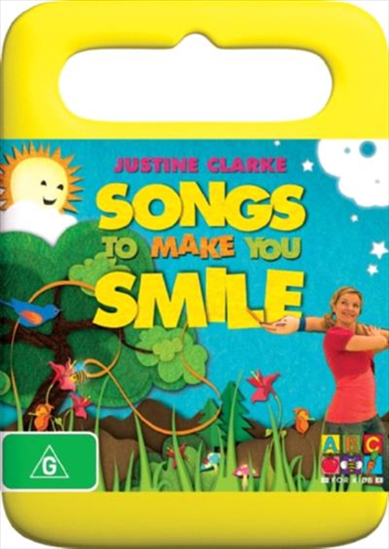 Justine Clark- Songs To Make Your Smile   DVD